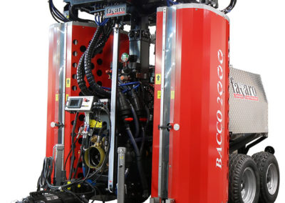 Machine de récupération BACCO-2000